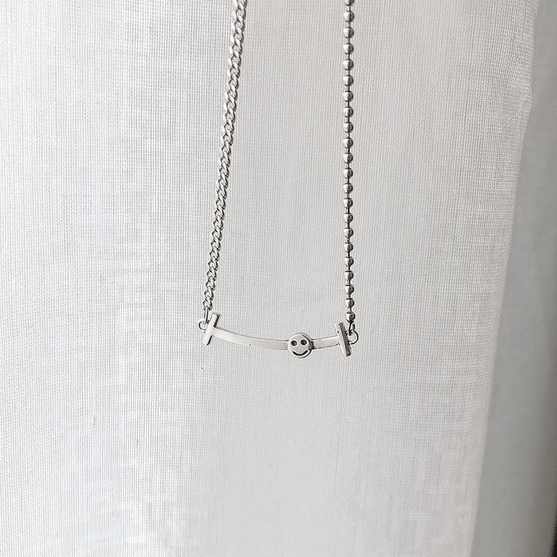 Silver Smile Necklace