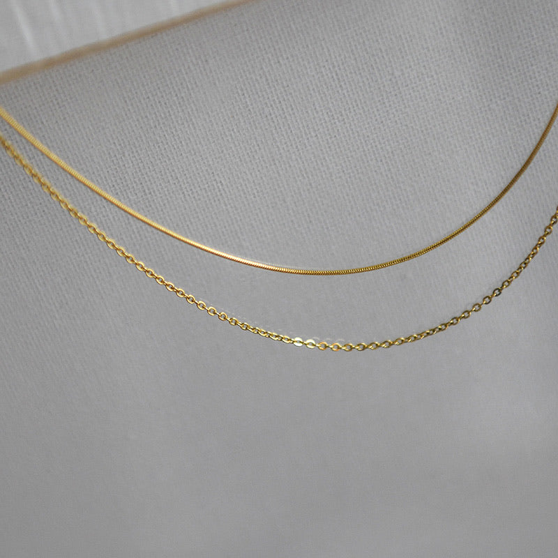 Double Layered Bold Necklace