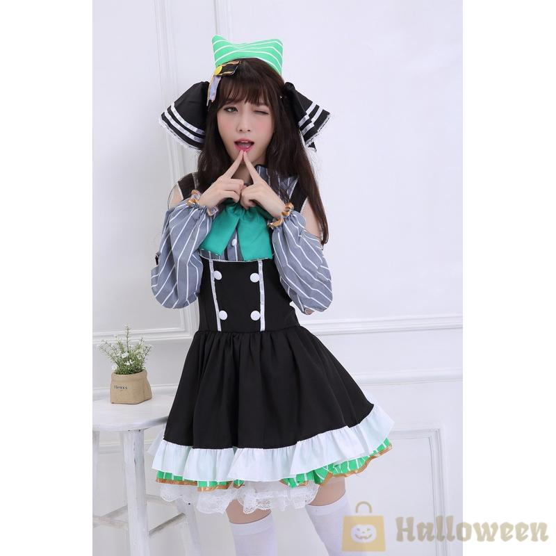 Anime Love Live Ellie Outfit Cosplay Costumes   Suit Uniform Dress Accessories