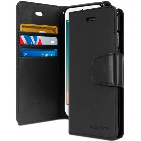 OPPO Find X Genuine Mercury Bluemoon Diary TPU Leather Wallet Flip Case