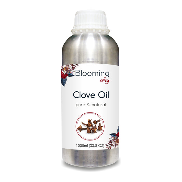 Clove Oil 100% Natural Pure Undiluted Uncut Essential Oil
