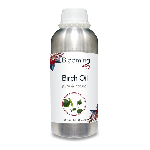 Birch Oil (Betula Pendula Betula Alba) 100% Natural Pure Essential Oil