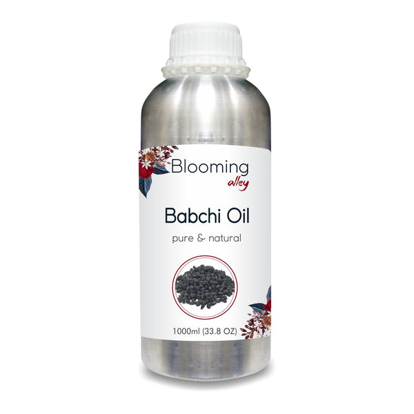 Babchi Oil (Psoralea Corylifolia) 100% Natural Pure Carrier Oil