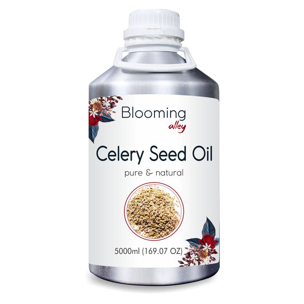 Celery Seed Oil (APIUM GRAVEOLENS) 100% Natural Pure Essential Oil