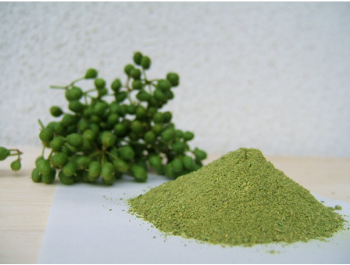sansho pepper seeds and powder