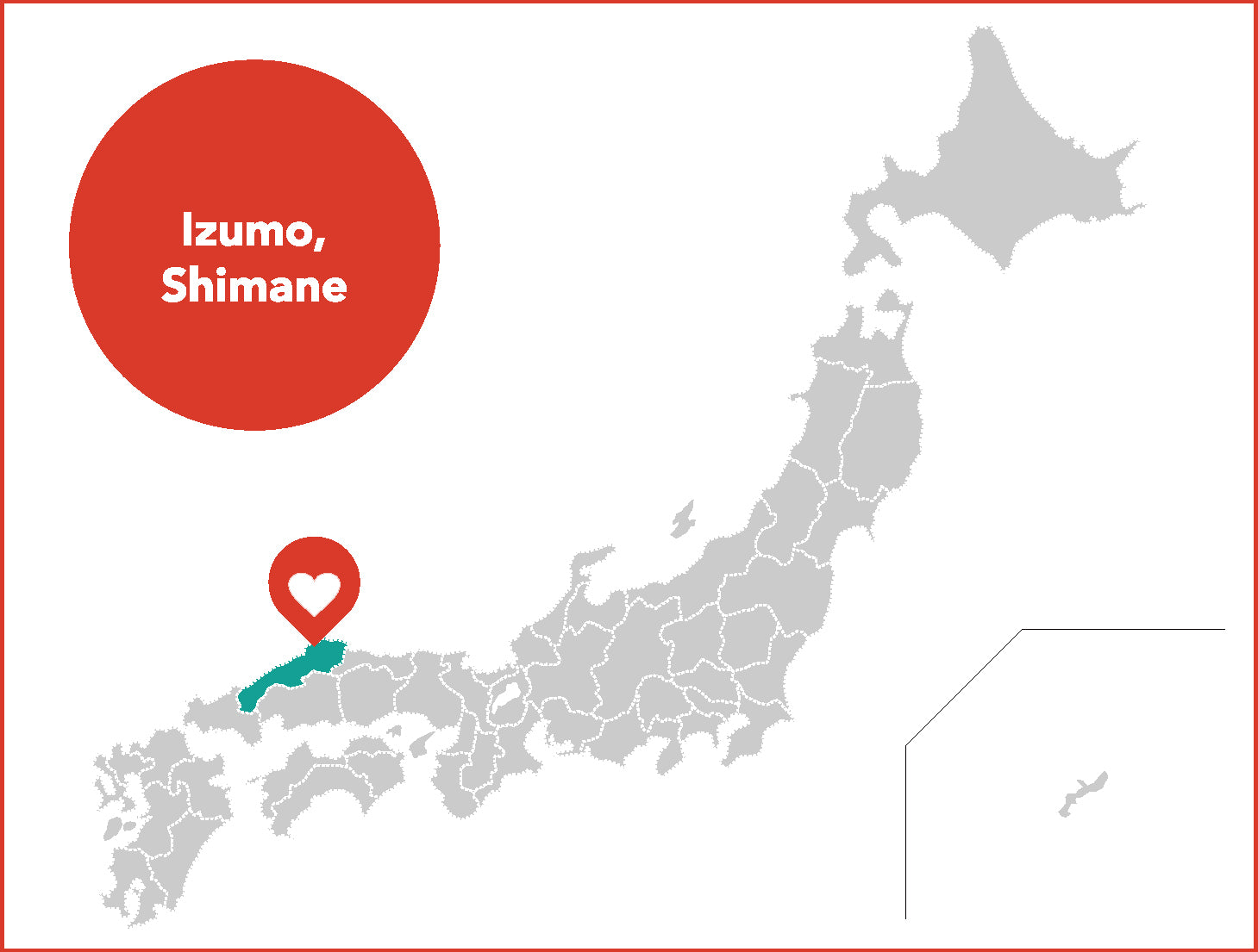 map izumo city shimane japan