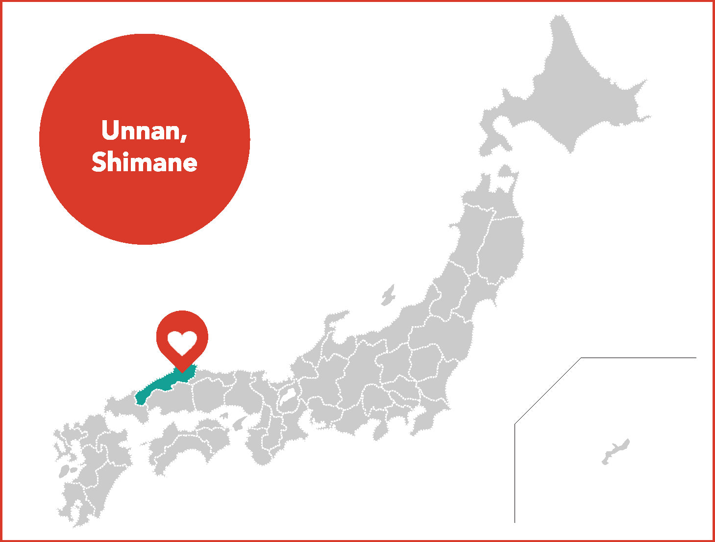 map unnan city shimane japan