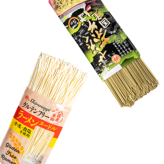 Two kinds of noodles
