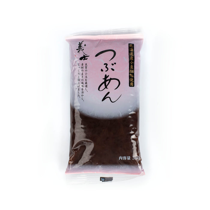 A package bag of red bean paste