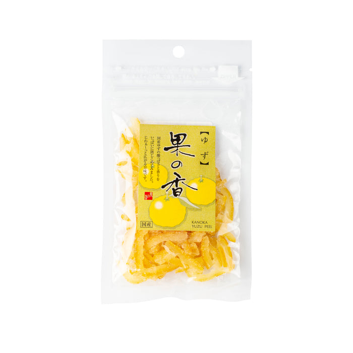 Dry Candied Yuzu Peel, 1.05 oz