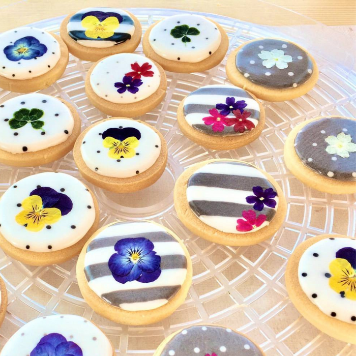 Pressed Dried Edible Flowers, 5 pcs