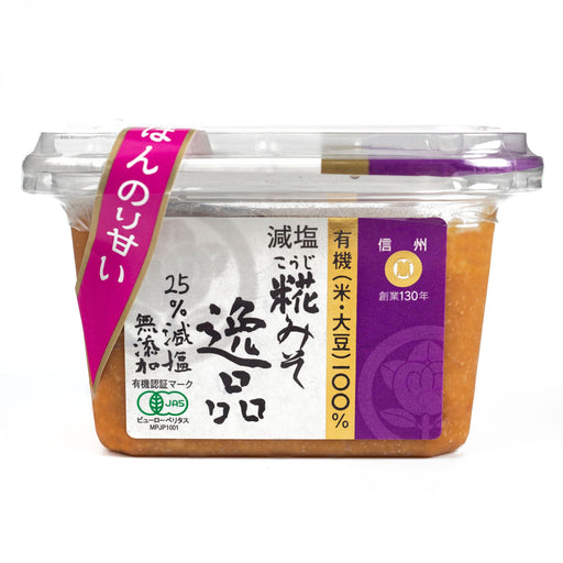 Organic Koji Miso Paste - Reduced Salt, 10.58 oz