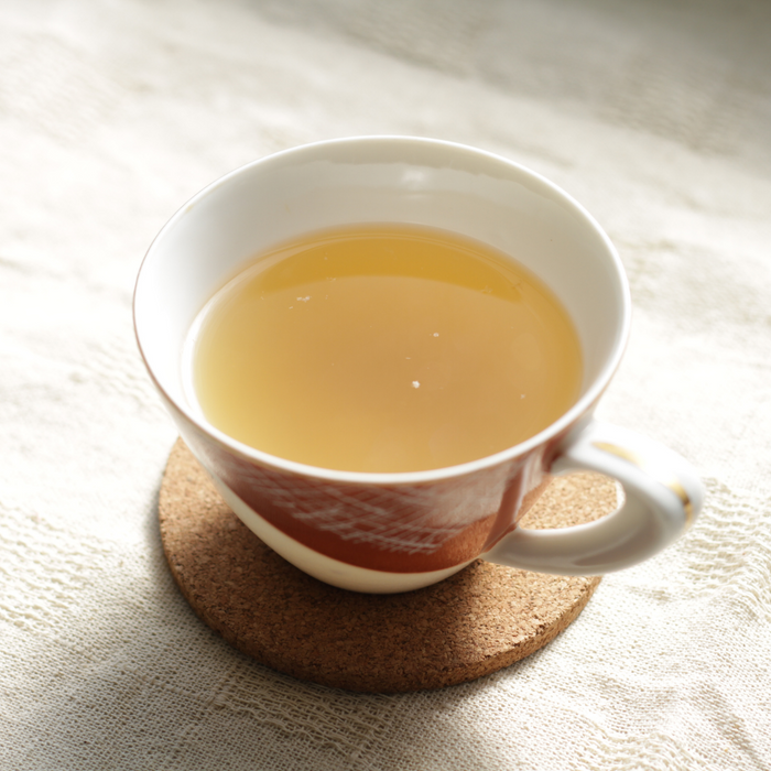 A cup of yuzu tea