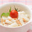 Gluten free macaroni salad with fruit tomato