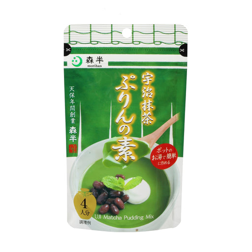 Uji Matcha Purin (Japanese Pudding) Mix 4 servings, 2.82 oz