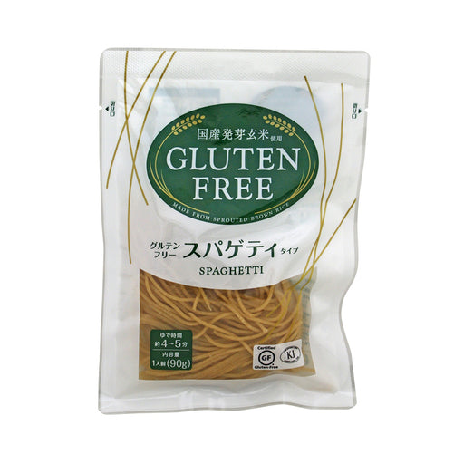 Gluten Free Spaghetti (Germinated Brown Rice Pasta), 3.17 oz