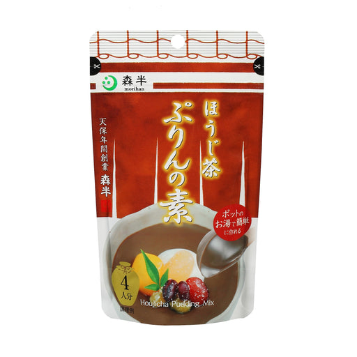 Uji Hojicha Purin (Japanese Pudding) Mix 4 servings, 2.82 oz