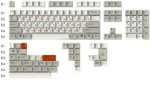 (In Stock) ePBT Classic Retro Cyrillic