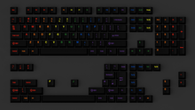 Load image into Gallery viewer, (Group Buy) GMK Midnight Rainbow Keyset