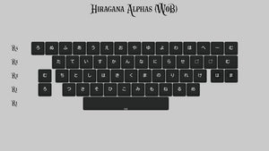 (Group Buy) KAT Monochrome Alpha Kits