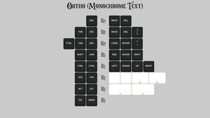 (Group Buy) KAT Monochrome Ortho Kits
