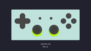 (Group Buy) Controller Series Deskmat