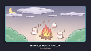 (Group Buy) Infinikey Marshmallow Deskmats