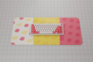 (Group Buy) Infinikey Strawberry Lemonade Deskmats