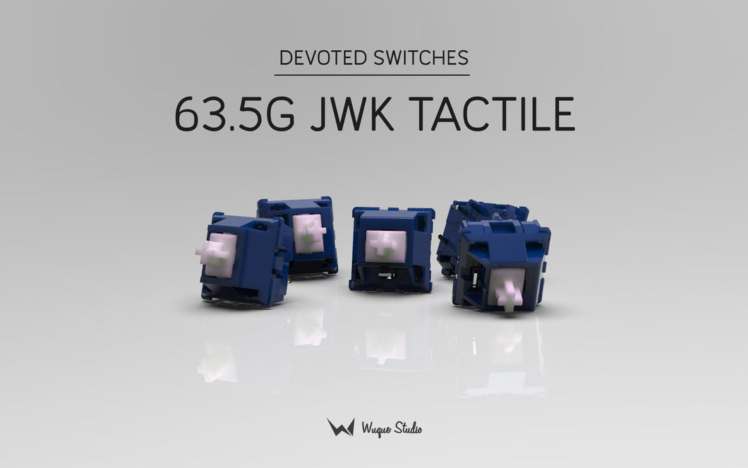 (Group Buy) IKKI68 Aurora x Devoted Switches + Stabilisers