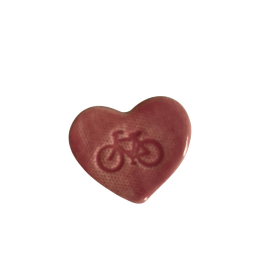 I Love Cycling Pin