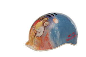 Wearable-Art Helmet: All My Relations - Pedal People