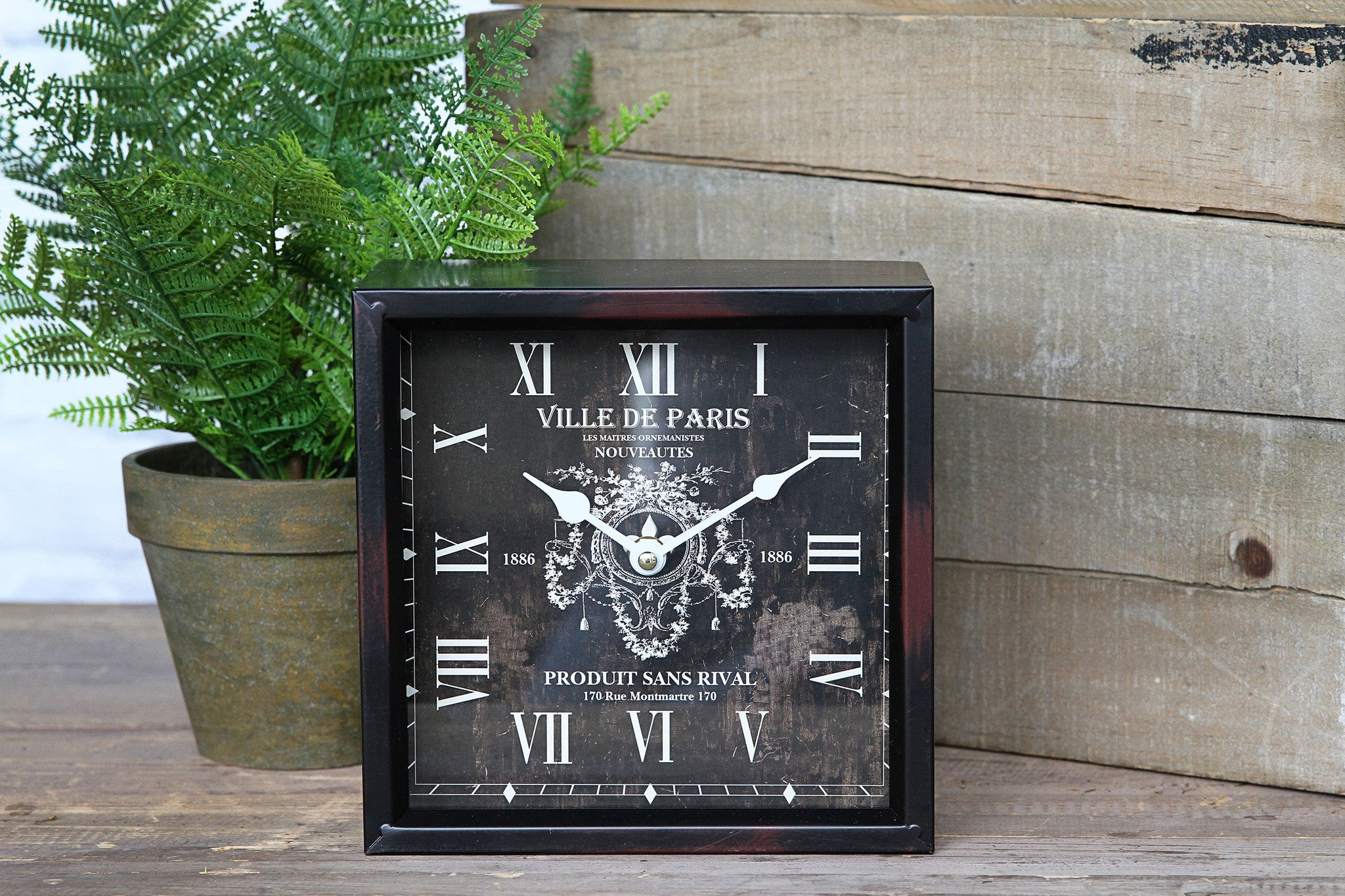 Ville de Paris Desk Clocks