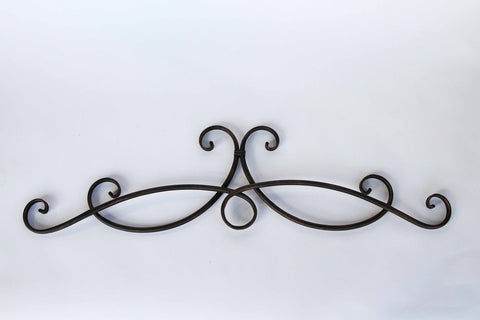Antiqued Bronze Wrought Iron Wall Décor!