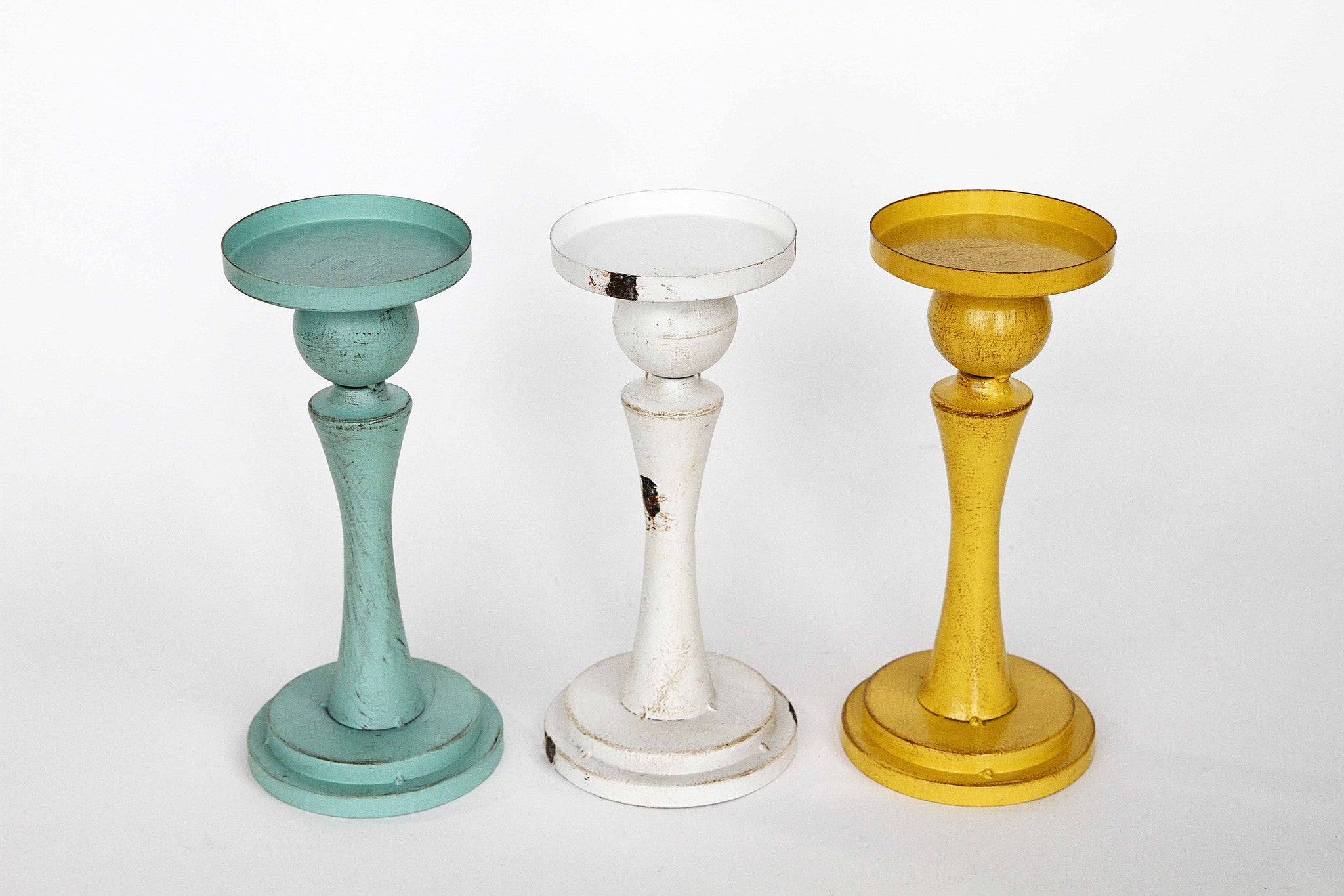 Statuesque Candle Holders!