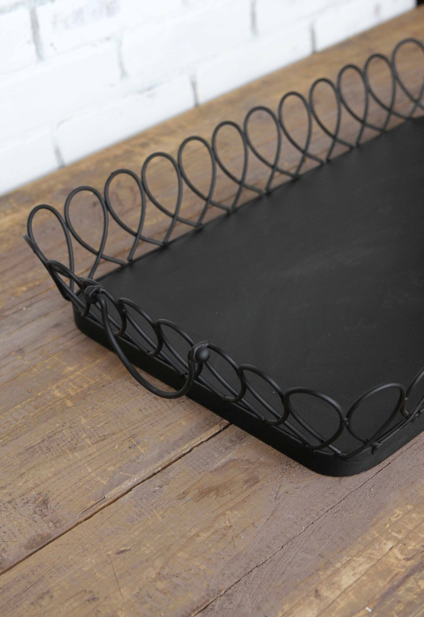 Looped Metal Tray