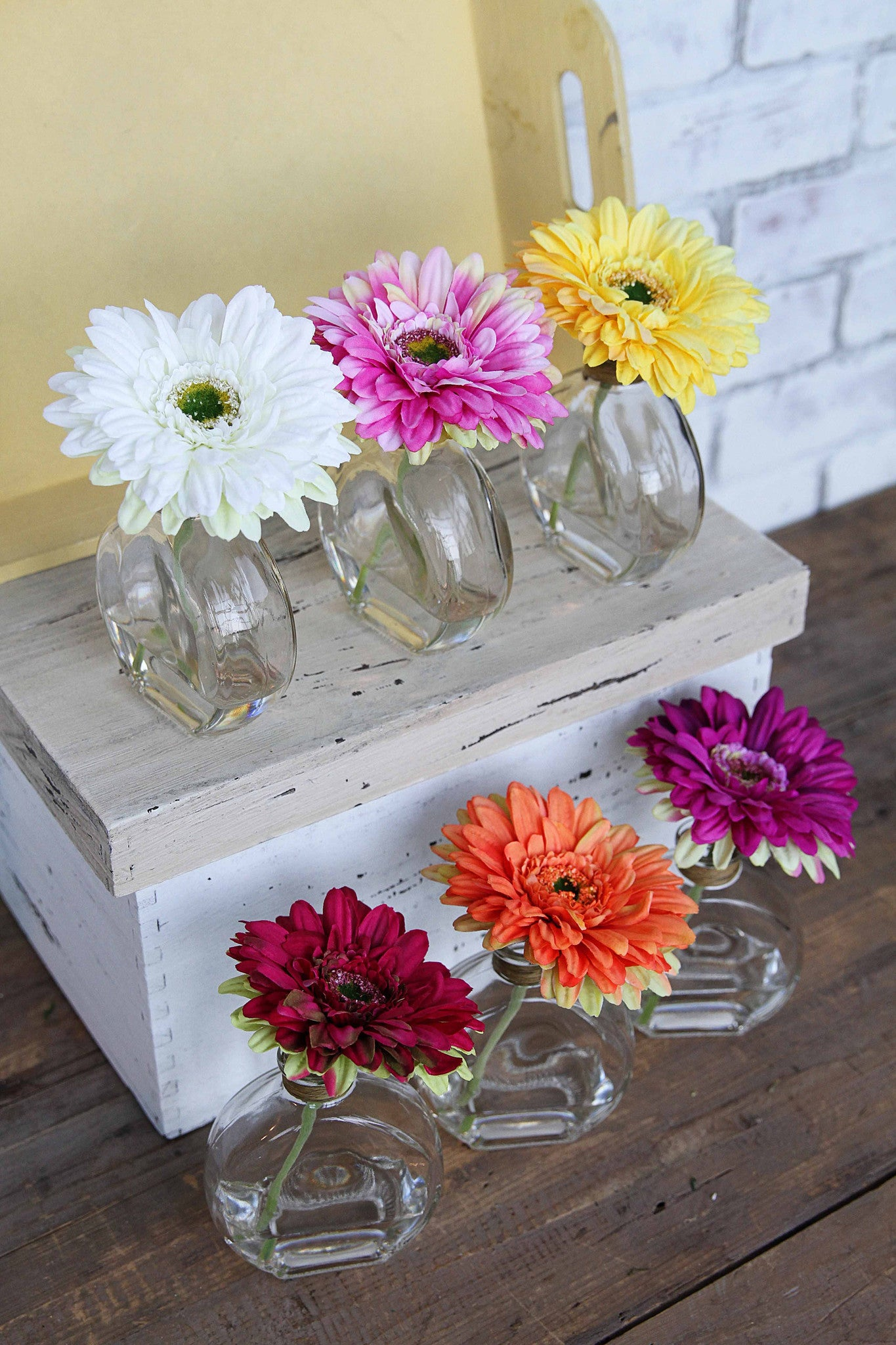 Gorgeous Gerberas in Glass