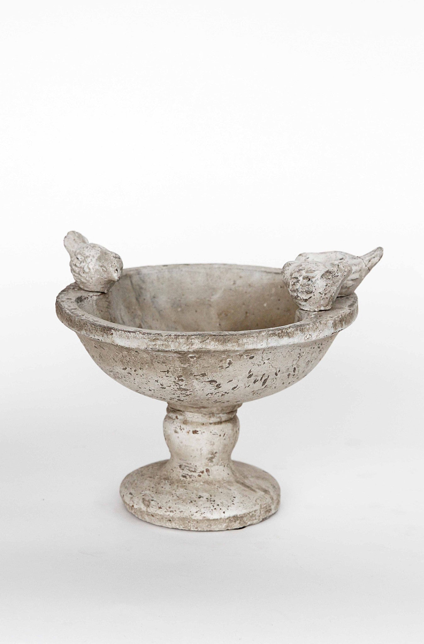 Ceramic Bowl with 3 Bird Figures