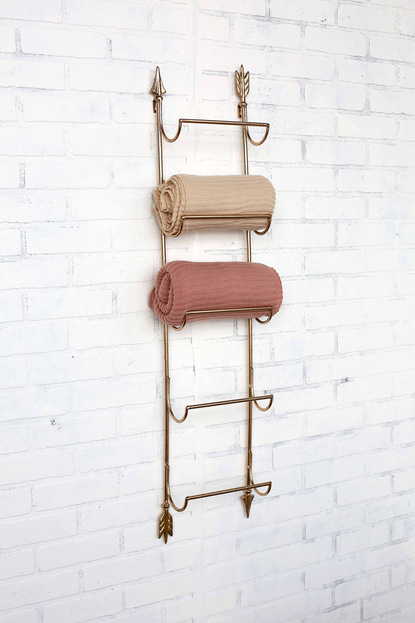 Gold Foil Arrow Wall Rack!