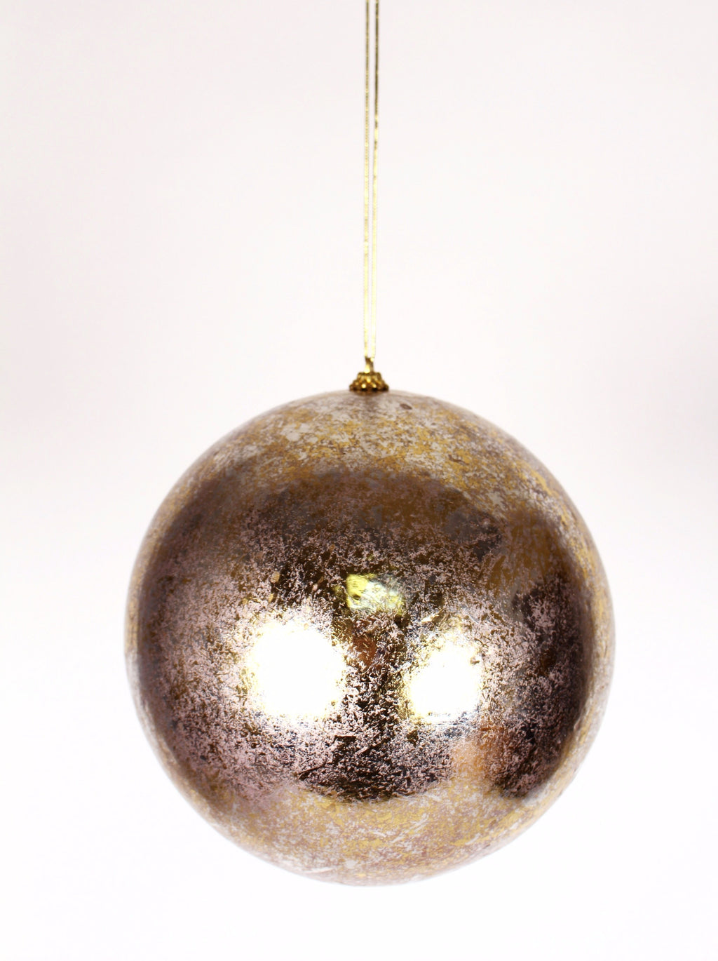 LARGE LUSTER BALL ORNAMENT
