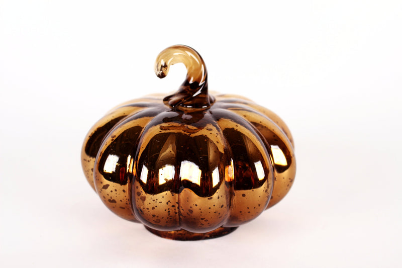 BEAUTIFUL GLASS PUMPKIN