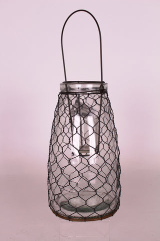 Glass Jar Lantern!