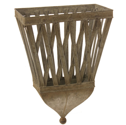 Metal Wall Basket!