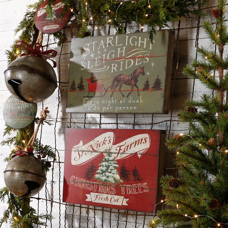 VINTAGE CHRISTMAS SIGNS