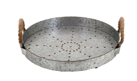 Galvanized Metal Trays