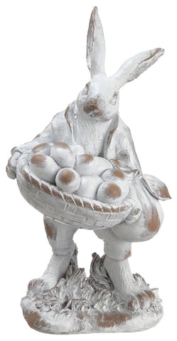 Classic Easter Bunny with basket & eggs!