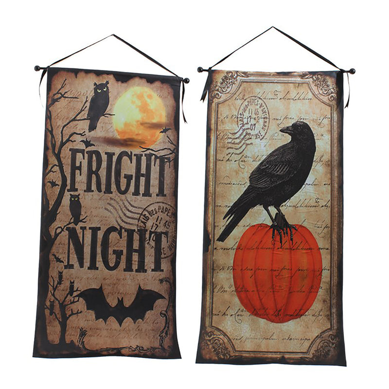 Halloween-themed Banners!
