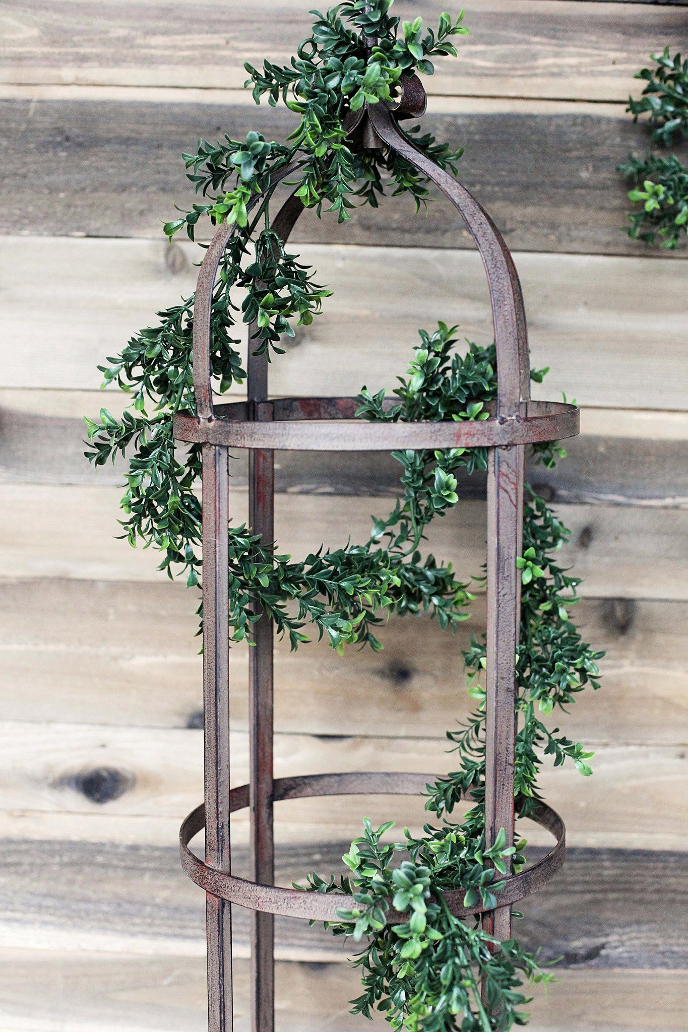 6-Foot Faux Boxwood Garland!