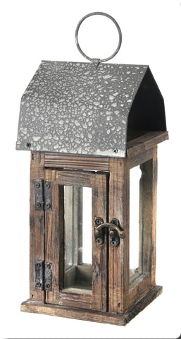 Beautifully Rustic Wood & Metal Lanterns