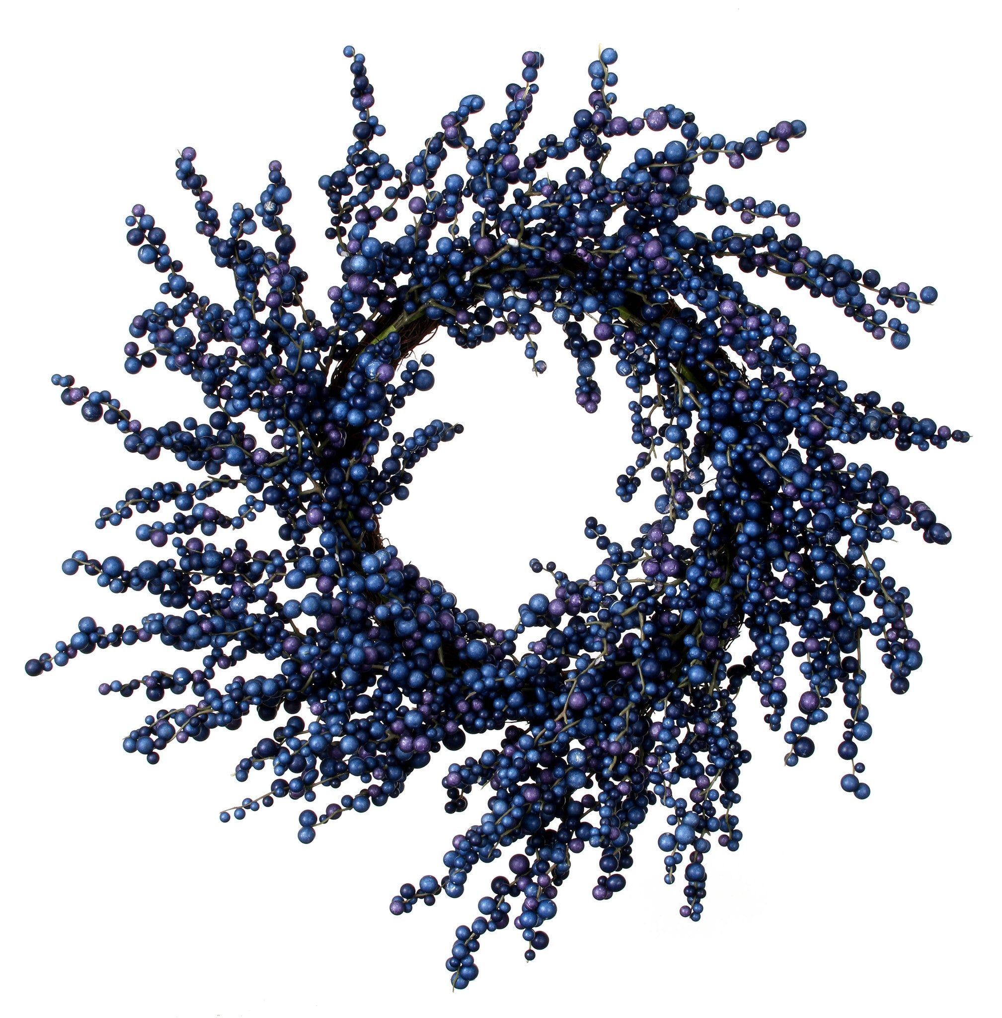 Blue Beauty Berry Wreath!