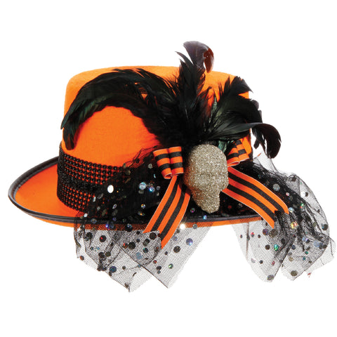 "Frightfully Fashionable 12"" Halloween Hats!"